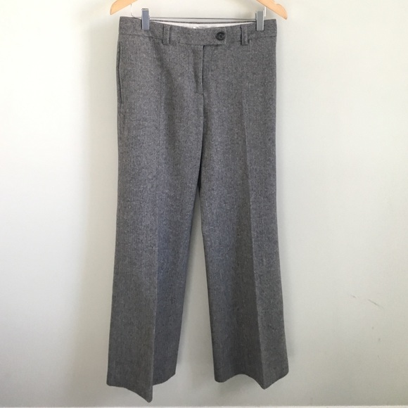 J. Crew Pants - J. Crew wide legged herringbone trousers