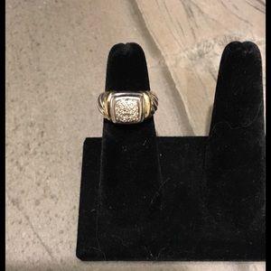 David Yurman Classic Pave Diamond Ring