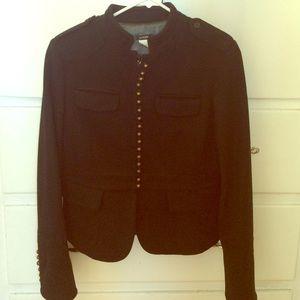 Jcrew wool fully lined coat