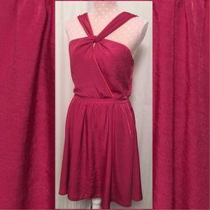 Pim + Larkin Cross Front Halter Dress