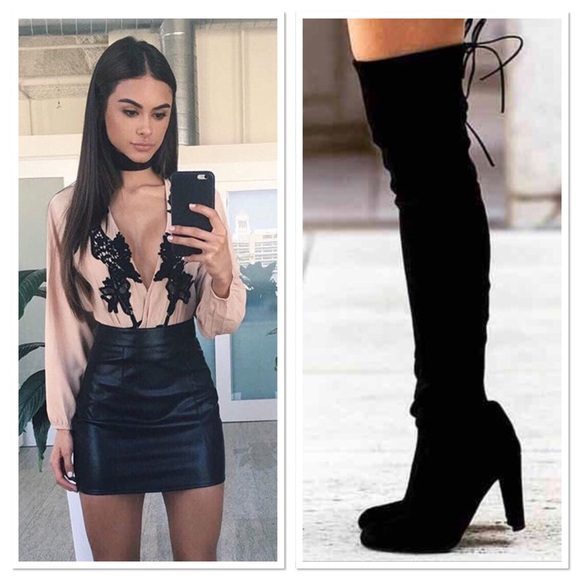 Shoes - 💥  RESTOCK 💥Thigh-high boots
