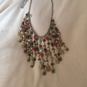 Jewelry - Boho drape/ bib necklace