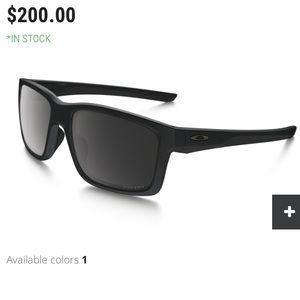 Oakley black matte sunglasses