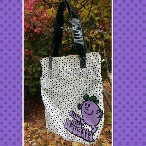 Little Miss Handbags - 💘💜 Little Miss Naughty Polka Dot Tote Bag 💜💘