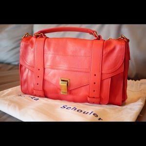 Proenza Schouler Handbags - 100% NEW Proenza Schouler PS1 Medium Deep Coral