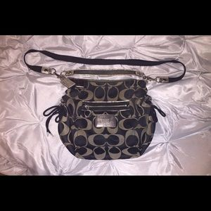 Authentic poppy coach bag
