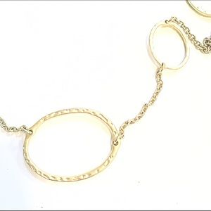 Jewelry - 📿Gold Circle Station Chain Necklace