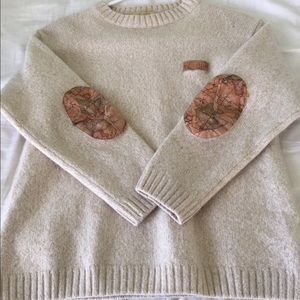 Sweaters - Vintage Elbow Patch Sweater