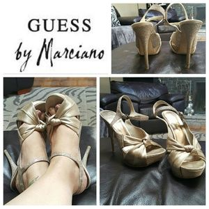 Guess by Marciano Shoes - Guess by Marciano Sparkling Heels sz 8.5
