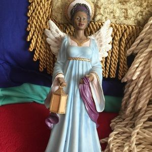 African American Colorful Angel