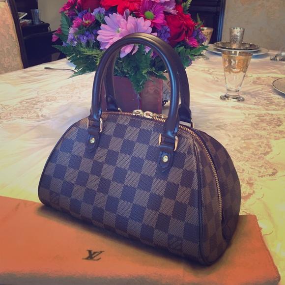 6d39ac4c4c25 Louis Vuitton Handbags - Louis Vuitton Mini Rivera Bag Damier Ebene