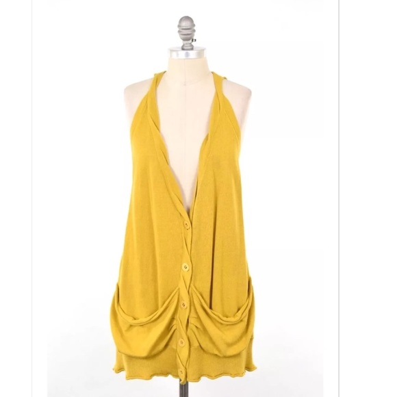 69% off Anthropologie Sweaters - MOTH mustard yellow slouchy ...