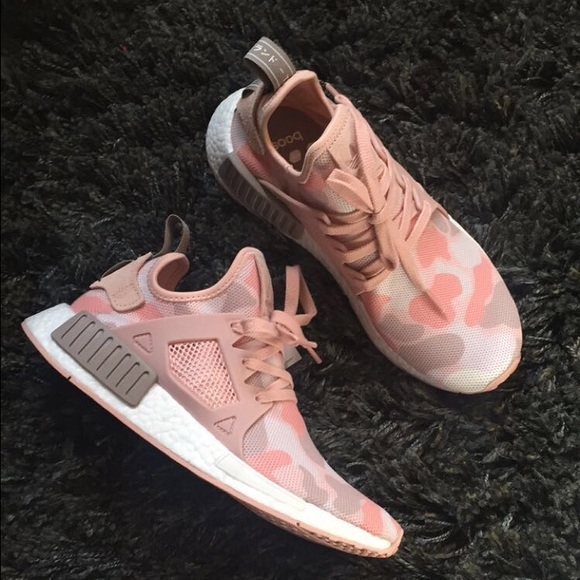 cd4caa20929be Pink Duck Camo Adidas NMD XR1