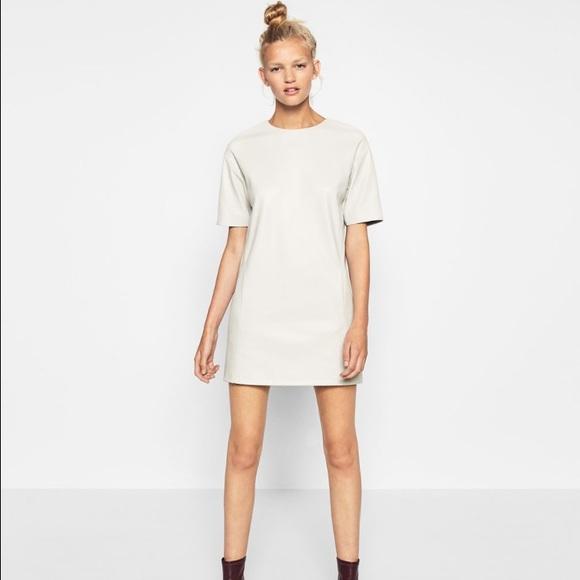 cf730c8d Zara Dresses   Faux Leather Dress   Poshmark