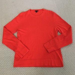 Theory Other - SALE! EUC Orange Cotton/Cashmere Theory Sweater