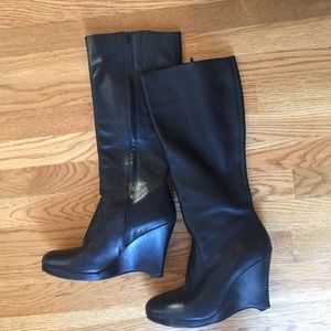 Banana Republic Shoes - Black leather boots