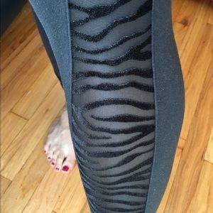 Victoria's Secret Fashion Leggings Sheer