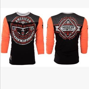 AFF Other - NWT MENS AMERICAN FIGHTER LONG SLEEVE SHIRT