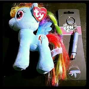My Little Pony Other - New my little pony ty baby + $8-10 mystery gift