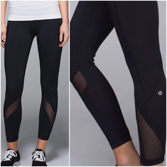 5aca346e0 lululemon athletica Pants - LULULEMON INSPIRE TIGHT II BLACK -- Size 8