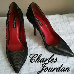 Charles Jourdan Shoes - Charles Jourdan Paris sz 10 like new!
