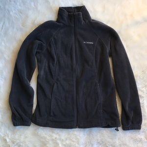 Small {Columbia} Fleece Zip Sweatshirt