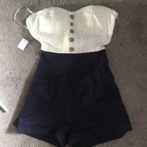 Zinga Dresses & Skirts - Strapless romper