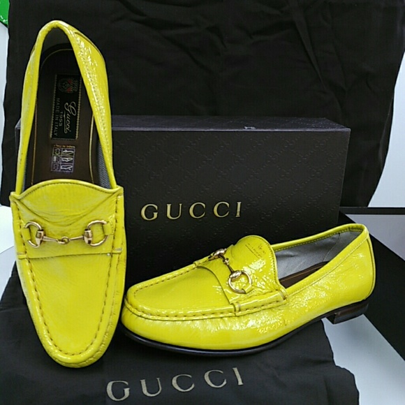 99cce3549821 GUCCI 1953 Horse bit Loafers  Yellow