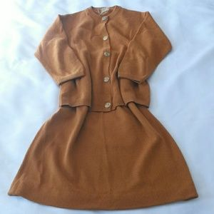 Ballantyne Dresses & Skirts - Vintage Cashmere sweater skirt set
