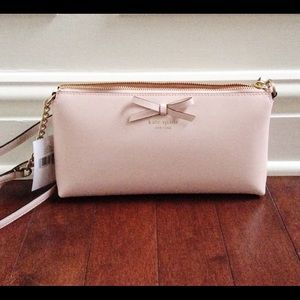 kate spade Handbags - Authentic NWT Kate Spade Light Pink Crossbody Bag