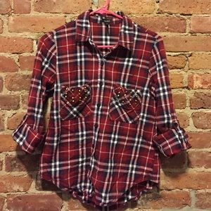 Nollie Studded Flannel
