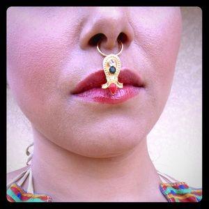 Jewelry - Non pierce nose ring. Nose jewelry boho jewelry