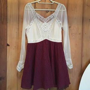 Free People Dresses & Skirts - NWOT FP Victorian Lace Mini Dress
