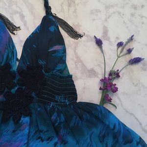 XOXO Dresses & Skirts - Embroidered Tassel Dress