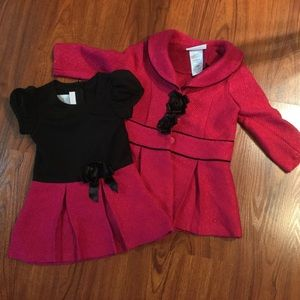 Bonnie Baby Other - 2 PC Dress and coat set Bonnie Baby