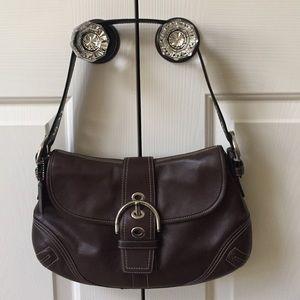 Coach Handbags - Brown leather Coach handbag