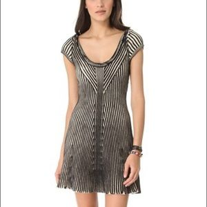 Free People Dresses & Skirts - Free People Striped Sweater Cap Sleeve Dress  XS