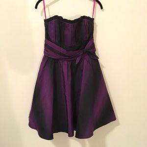 Betsey Johnson Dresses & Skirts - Betsey Johnson Purple Gradient Strapless Dress