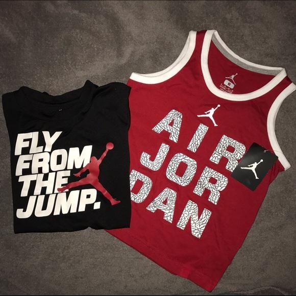 9fe9f923686b32 Boys Nike Air Jordan Shirt Lot Sz 6