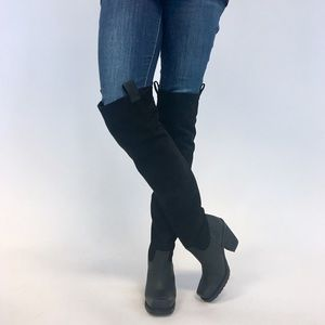 Sixty Seven + Free People Suede Tall OTK Boots