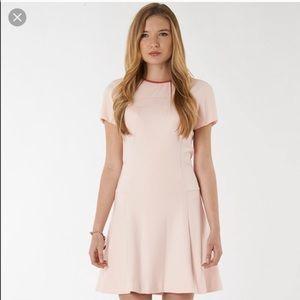 Ted Baker pink skater dress! SIZE 3=8