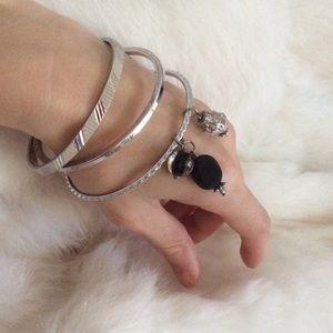 Monet Jewelry - 🛍 Monet Gypsy Metal Bangles