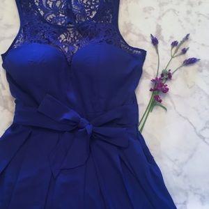 Guess Dresses & Skirts - Colbolt Violet Lace Dress