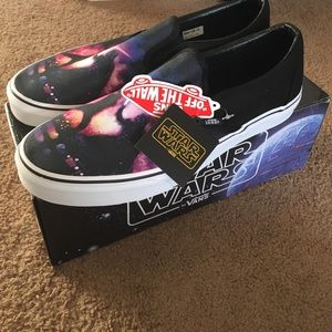 1ebd7b611296c0 Vans Shoes - Vans Star Wars Collection-Black Saber Fight Mens12