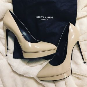 Yves Saint Laurent Shoes - Saint Laurent Paris Janis heels