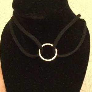 Choker Necklace Black NWOT