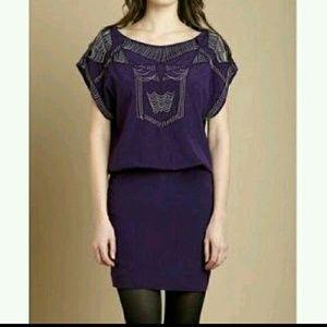 Nicole Miller Purple dress