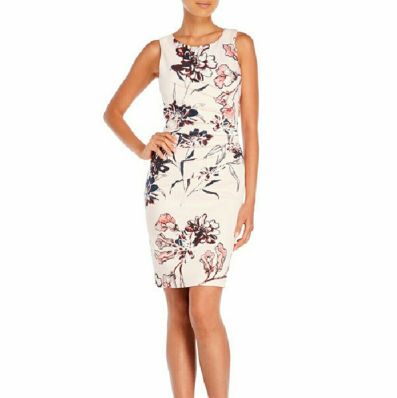 0810e004 Ivanka Trump Dresses | Sale Floral Print Dress | Poshmark