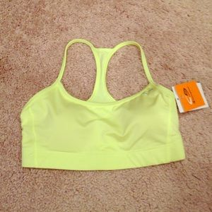 Champion Neon Yellow Sports Bra