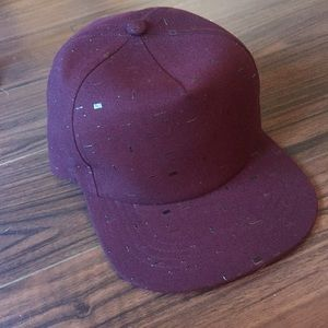 beautiful giant Accessories - 🌵Burgundy Textured Baseball Cap 🔥SAMPLE SALE